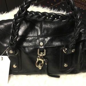 Francesco Biasia Braided Leather Purse